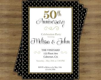 50th anniversary invitation vatozozdevelopment 50th anniversary invitation stopboris Images