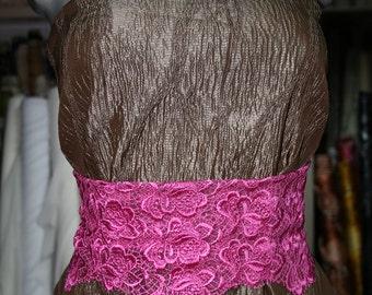 brown stretch brocade fabric 115 cm wide