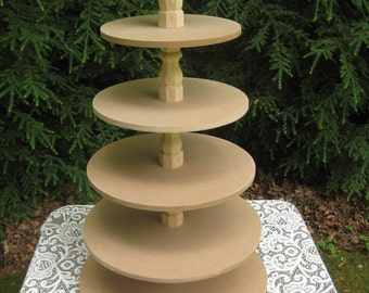Cupcake Stand Cupcake Tower White Cupcake Stand Wood