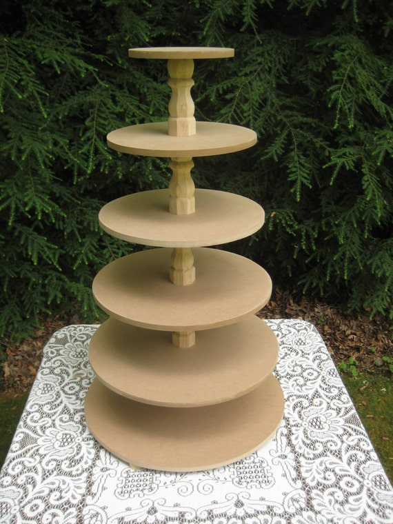 make your own cupcake wedding cake stand unfinished cupcake stand wood cupcake stand cake stand 17010
