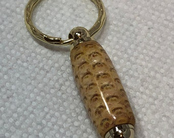 Corncob / Pinecone - keychair or Necklace