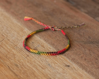 Fall Zipper Bracelet