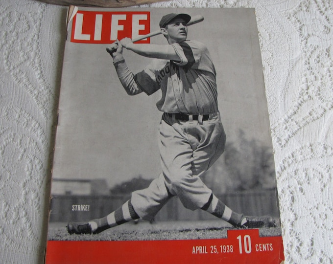 Life Magazines 1938 April 25 STRIKE! Vintage Magazines and Advertising