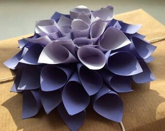 Dhalia Flower Gift Topper