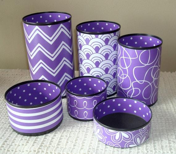 purple desk accessories more colors available desk