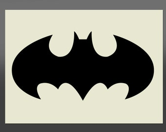 Batman Stencil - Various Sizes - Made from High Quality Mylar
