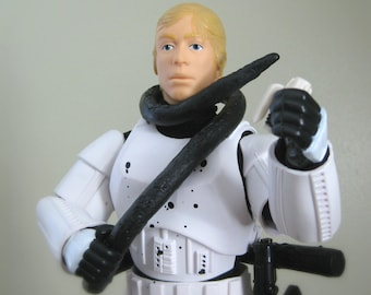 "Luke Skywalker Stormtrooper 12"" Star Wars Doll, Star Wars Father's Day Gift, Death Star Trash Compactor A New Hope, Kids Action Figure Toy"