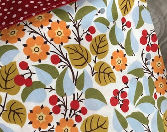Flowers, Vines and Berries Standard Size Pillowcase, Charity Item, MadebyKids4Kids