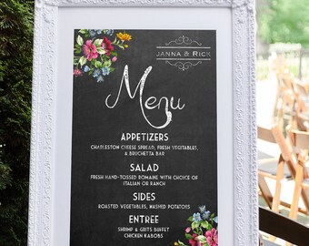 Menu Template Catering Menu Menu Board Wedding Menu
