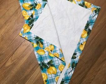 Lemons Receiving Blanket