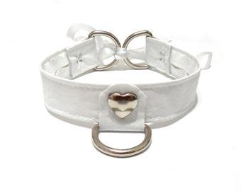 White Heart Choker. White Collar