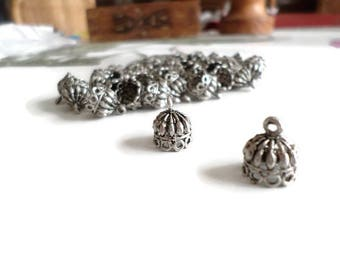 Indian ethnic charms antique silver metal p08 2