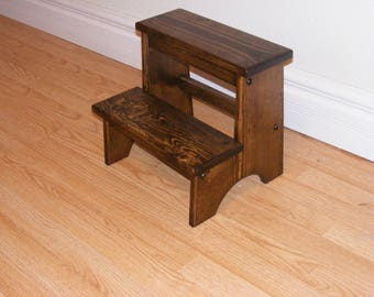 Rustic Country Step Stool/Foot stool