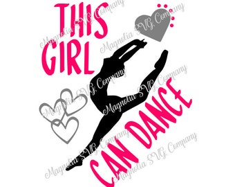 This Girl Can Dance SVG