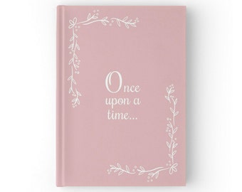 Fairytale Wedding Guest Book, Fairy Tale Wedding Guestbook, Blush Pink Wedding, Color Choices Available, GB 080