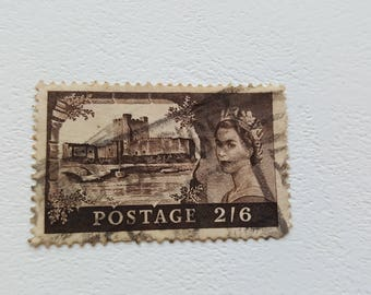 UNITED KINGDOM Vintage Postage Post Stamp, Antique Postal Stamps, Collectible stamps, Collection philately 4.3cm x 2.8cm