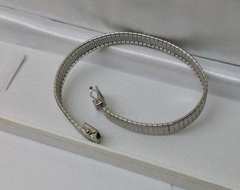 Bracelet silver 800 length 18.5 cm vintage SA269