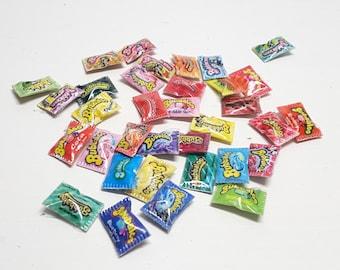 Mini chewing gum