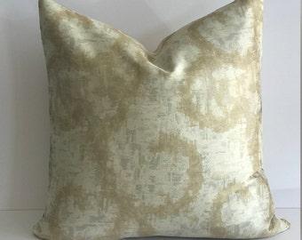 Dazzling Metallic Contemporary Print Throw Pillow Cover