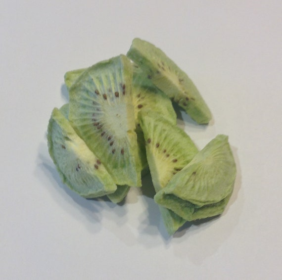 Freeze dried Kiwi   unprocessed all natual no sulfites no additives GMO free