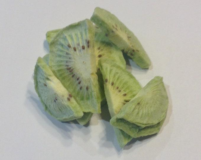 Freeze dried Kiwi   unprocessed all natual no sulfites no additives GMO free