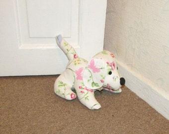 Bird Trail Doggy Doorstop, Home Decor, Handmade, Fabric, Home, Home and Garden, Free Postage