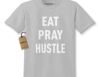 Eat Pray Hustle Kids T-shirt