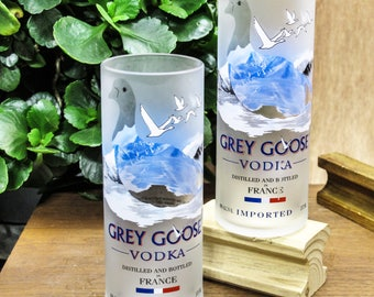 Skinny Tumbler Grey Goose Vodka Gift Set Unique Xmas Gifts Clever Gift  Ideas Ingenious Gift Original