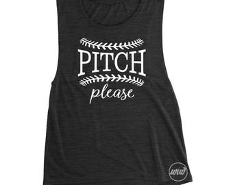 Pitch Please Muscle Tank. Baseball Shirt. Baseball Mom. Softball Mom. Baseball Yall. Batter Batter. Raise Baller. Hit Steal. Funny Baseball