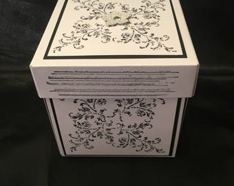 """4"""" Exploding Box - Flower/Butterfly Surprise"""