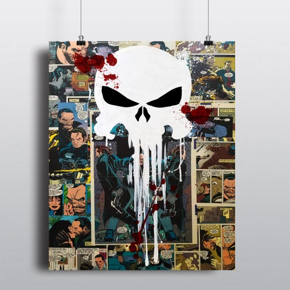 The Punisher Collage