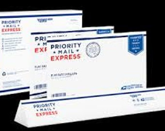 Priority Express 1-2 Day Shipping with USPS