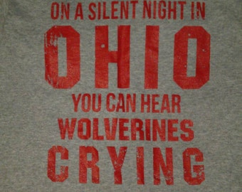 On a silent night in Ohio T shirts