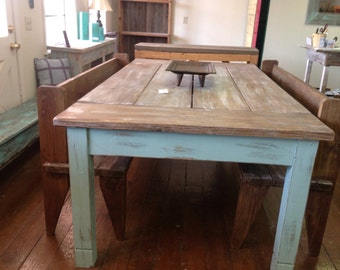 Great Large Farmhouse Table