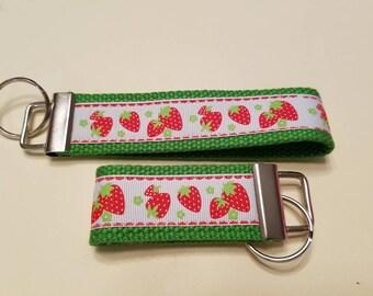 Strawberry Fields Forever Keychain