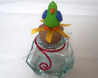 For baptism, pot dragees Parrot pirate