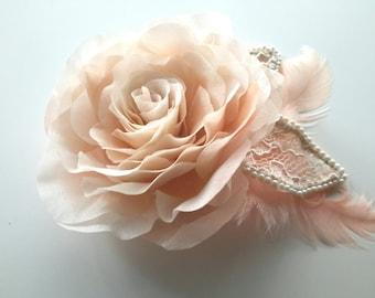 Wedding Hair Flowers Rose In Hair Bridal Hair Clip Wedding Hair Clip Bridal Hair Flower Hair Accessories Hair Jewelry Wedding Head Piece