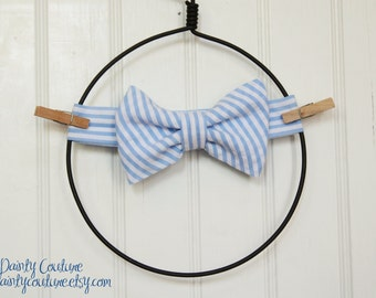 Bow tie for Little Boy - Will coordinate with any birthday set purchased - Birthday outfit