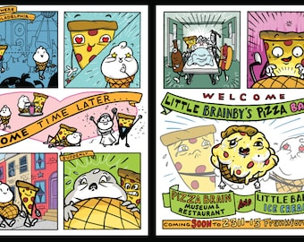 Little Brainby's Pizza Babe!
