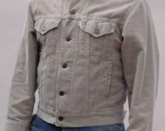 Vintage 1990s Levi's corduroy jacket, workwear,western wear