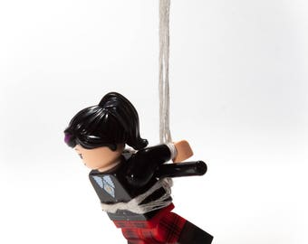 Suspended - A Lego After Dark Card