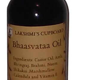Bhaasvataa Oil w/ Amla, Shikakai, Neem Bhringraj, Marshmallow and Brahmi