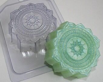 Oriental pattern - plastic soap mold soap making soap mould molds soap mold