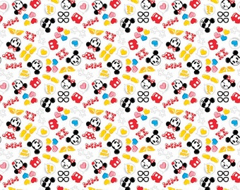 Disney Emojis Mickey Minnie Fabric From Springs Creative