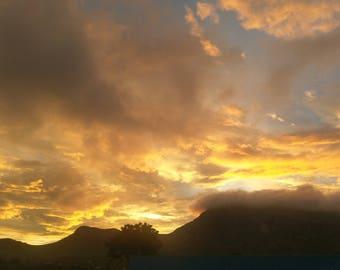Africa Malawi - Blantyre Sunset