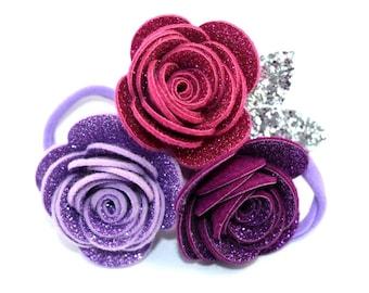 Fairy Glitter Crown Purple