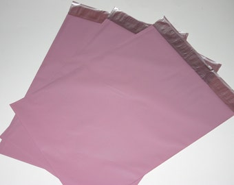25 9x12 Poly Mailers Pale Pink Self Sealing Envelopes Shipping Bags Spring Easter