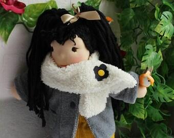 """Doll Waldorf Doll """"Mila"""" 35 cm"""