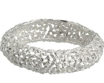 Silver bracelet nuggets (925 Sterling Silver)