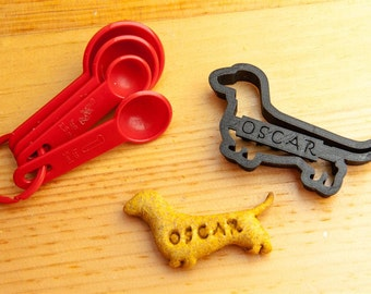 Dachshund Dog Cookie Cutter Custom Treat Personalized Pet